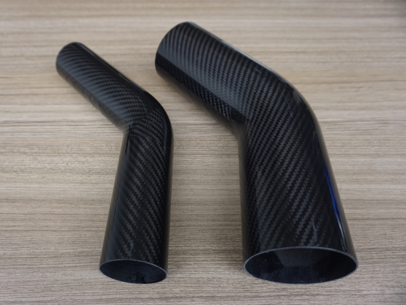 45 Degree Carbon Fiber Elbow